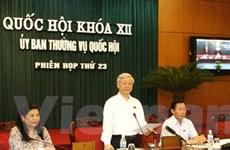 UB Thường vụ Quốc hội cho ý kiến về 8 dự án luật