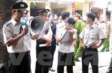 Tổ chức hệ thống thi hành án dân sự theo 3 cấp