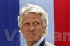 Cựu Thủ tướng Pháp de Villepin phải hầu tòa