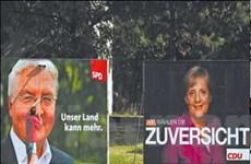 Bầu cử Đức: Chờ đợi một liên minh đổi màu