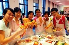 Lễ hội ẩm thực Hàn Quốc thu hút đông đảo giới trẻ