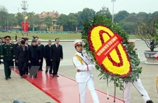 Lễ viếng Chủ tịch Hồ Chí Minh được tiếp tục tổ chức