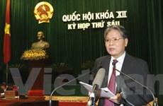 QH nghe báo cáo thi hành án và chống tội phạm