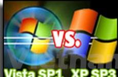 Windows Vista đề kháng tốt hơn Windows XP SP3