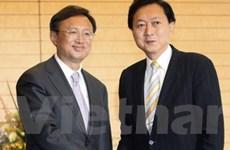 Nhật-Trung cam kết tăng hợp tác song phương