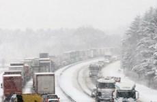 Mưa bão, giá rét đe dọa châu Âu đón Giáng sinh