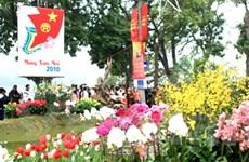 Rực rỡ sắc hoa xuân giữa Thủ đô ngàn năm tuổi