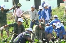 Tháng Thanh niên với chủ đề bảo vệ môi trường