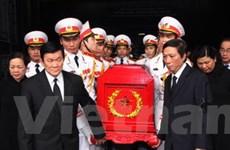 Tổ chức trọng thể Lễ tang ông Trần Đình Hoan