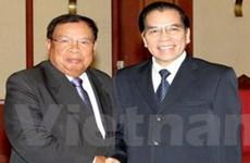 Quyết tâm đưa quan hệ Việt-Lào lên tầm cao mới