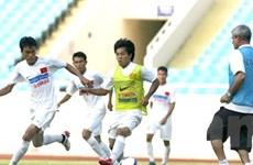 ĐT Việt Nam chuẩn bị cho trận đấu với E.Frankfurt