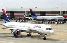 Mỹ: Máy bay Delta Airlines phải hạ cánh khẩn cấp