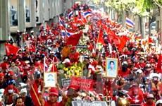 """Phe """"áo đỏ"""" tuyên bố mở rộng biểu tình ở Bangkok"""