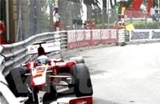 Alonso bất ngờ gặp nạn ở cuộc đua Monaco GP