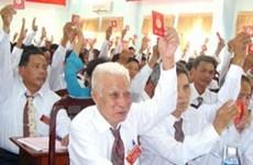 Hậu Giang: Đại hội điểm đảng bộ Thị xã Ngã Bảy