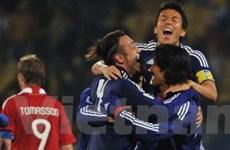Tuyển Nhật lọt vào vòng 2 nhờ tinh thần đoàn kết