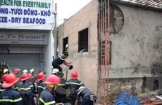 Sập nhà 3 tầng khiến hai người bị thương nặng