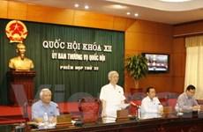 Chuẩn bị 5 dự luật trình Ủy ban Thường vụ Quốc hội