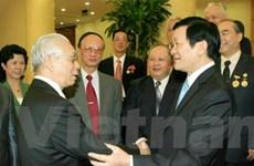 Lãnh đạo Đảng tiếp các đoàn khách bạn bè quốc tế