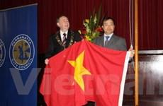 Thượng cờ ở Australia nhân Quốc khánh Việt Nam