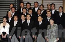 Chính phủ Nhật từ chức để thành lập nội các mới