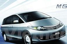 BYD giới thiệu mẫu xe M6 minivan ở Trung Quốc
