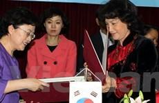 Hợp tác về bình đẳng giới giữa Việt Nam-Hàn Quốc
