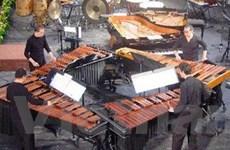 Nhóm gõ Tambuco nổi tiếng biểu diễn tại Việt Nam