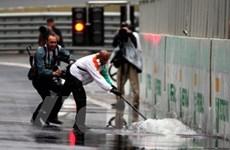 """Giải F1 chặng Sao Paulo sẽ """"chìm trong mưa gió?"""""""