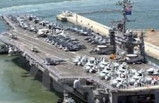 Hàn Quốc-Mỹ bắt đầu tập trận trên biển Hoàng Hải