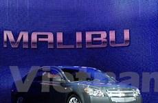 GM thay Epica bằng Chevrolet Malibu ở Trung Quốc