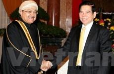 Việt Nam mong muốn tăng cường hợp tác với Oman