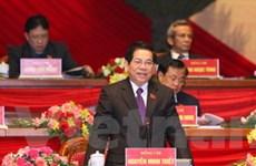 Các đại biểu tiếp tục tham luận tại Đại hội Đảng XI