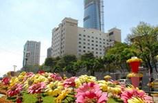 TP. Hồ Chí Minh đón năm mới trong vận hội mới