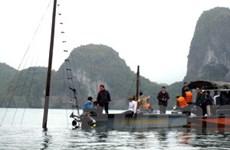 Tìm thấy thi thể nạn nhân vụ đắm tàu ở Hạ Long