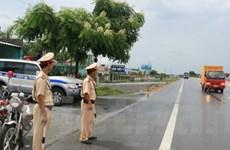 Lập trạm cảnh sát giao thông Đức Phổ ở Quốc lộ 1A