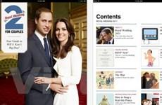 Ứng dụng iPad mới về... đám cưới hoàng gia Anh