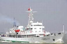 Tàu ngư chính Trung Quốc vi phạm chủ quyền VN