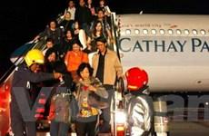Máy bay của Cathay Pacific phải hạ cánh khẩn cấp