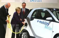 Đức lên kế hoạch phát triển 1 triệu ôtô chạy điện