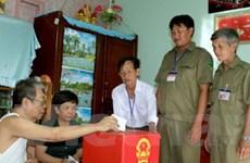 An ninh trật tự trong bầu cử đạt an toàn tuyệt đối