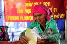 Có thêm năm tỉnh công bố kết quả bầu cử HĐND