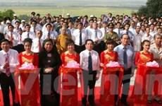 Khánh thành tôn tạo Khu di tích bà Hoàng Thị Loan