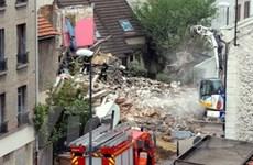 Sập 1 khách sạn cũ ở Montreuil làm 3 người chết