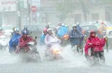 Vịnh Bắc Bộ có lốc xoáy, miền Bắc đổ mưa lớn