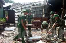 Lốc xoáy làm 2 người bị thương, hỏng 100 căn nhà