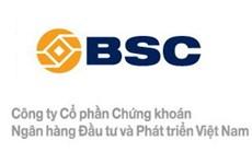 BSC niêm yết 86,5 triệu cổ phiếu trên sàn HOSE