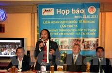 Bia Việt Nam tiếp tục dự liên hoan bia Berlin 2011