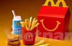 McDonald's công bố một thực đơn hạn chế béo phì