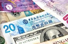 Tiền tệ châu Á xuống giá vì Mỹ bỏ nới lỏng tiền tệ